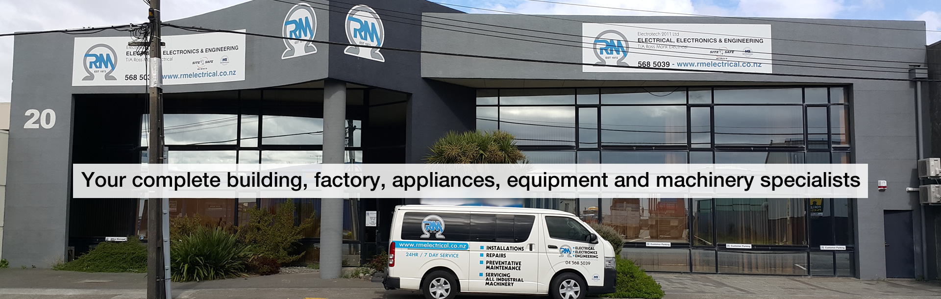 Ross Monk Electrical - Wellington